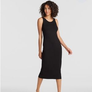 Eileen fisher System Viscose Black Tank Dress S